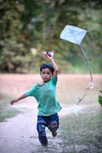 Kites in Cambodia